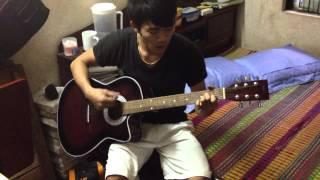 Đại ca tui đánh guitar =))