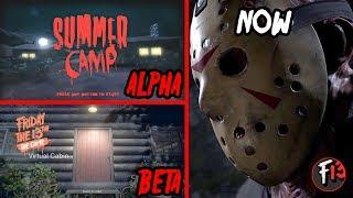 Friday the 13th - ALPHA VS BETA VS NOW (COMPARISON)