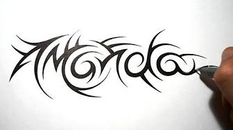 tribal names tattoo designs youtube. Black Bedroom Furniture Sets. Home Design Ideas