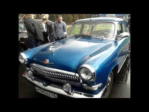 Парад ретро авто в Курске