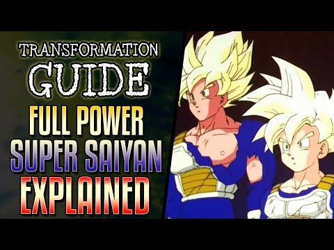 VIDEO: Full Power Super Saiyan Explained