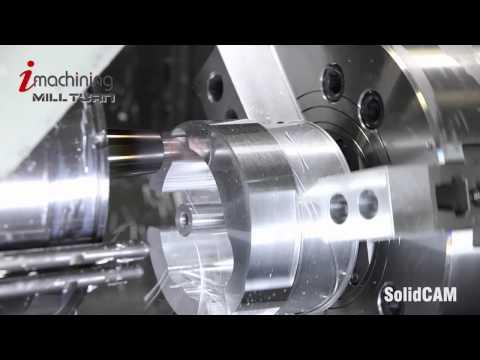 iMachining Mill-Turn on Mazak Integrex