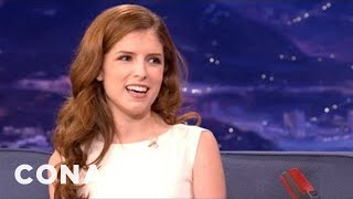 Anna Kendrick: Jake Gyllenhaal Got Tazed For Research - CONAN on TBS
