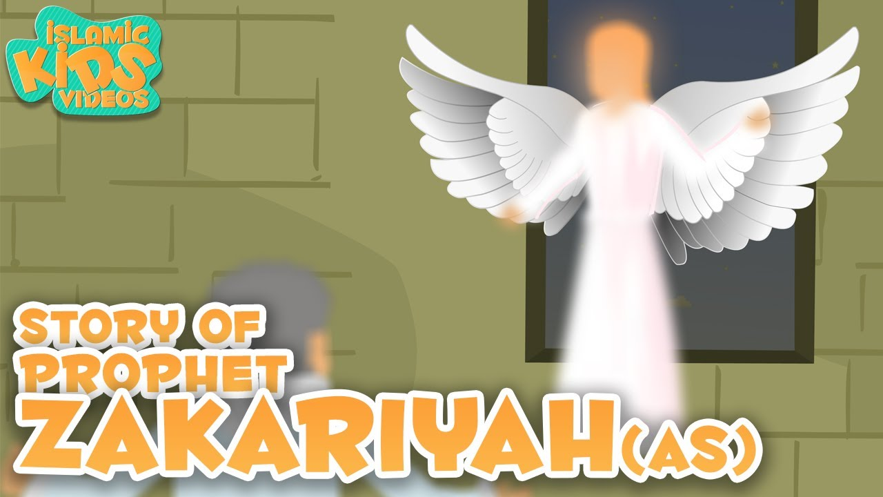 Prophet Stories For Kids in English | Prophet Zakariyah (AS) Story | Islamic Kids Stories