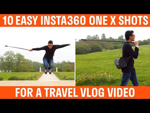 10 Easy Insta360 One X Shots For A Travel Vlog Video
