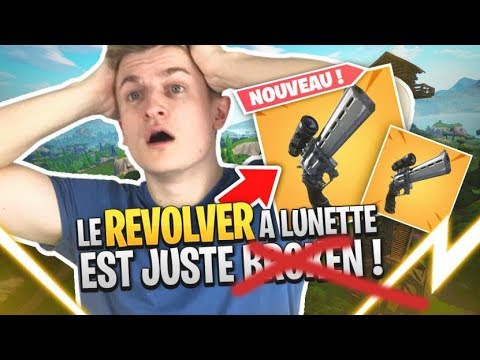 DECOUVERTE DU REVOLVER A LUNETTE SUR FORTNITE