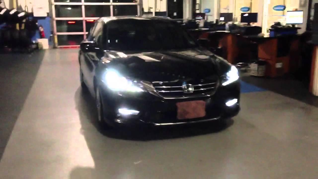 2013 Honda Accord Sedan Ex L V6 W Hid And Led Parking