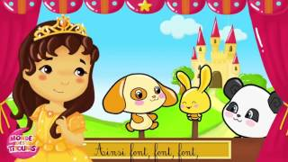 Les princesses et les couleurs - - Comptines pour enfants