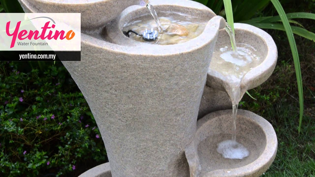 Feng shui water fountain infinity wealth selangor for Water feature feng shui
