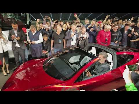 New Tesla Roadster Massive Acceleration