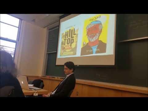Harvard anthropologist presentation on wineries of Judea & Samaria