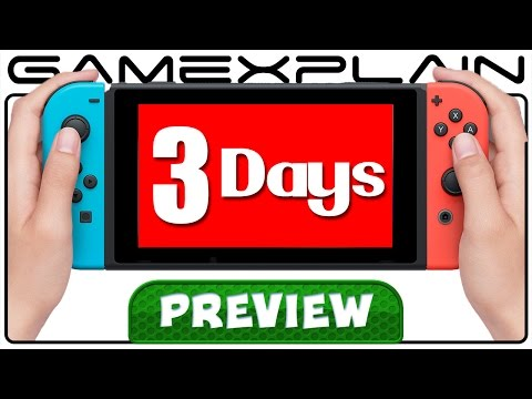 3 Days with the Nintendo Switch! - Hands-On Preview Discussion (UI, Controllers, & More!)