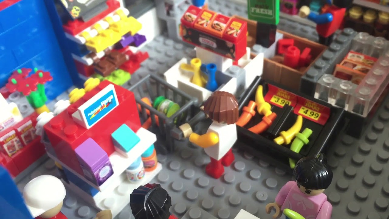 My Tesco Full Lego Set Viyoutube