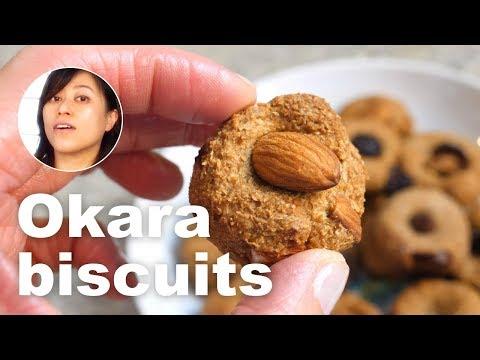 How To Make Tofu Okara Biscuits | Soybean Pulp Recipes