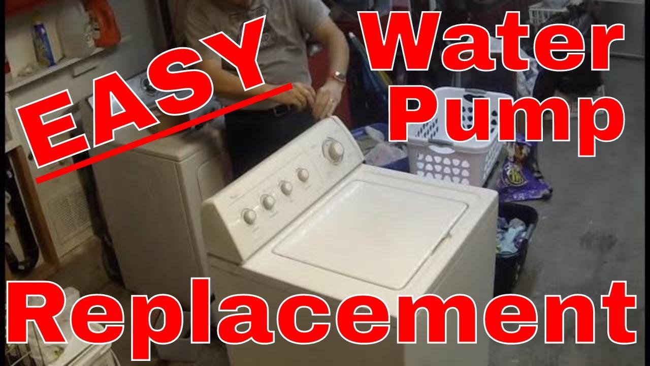 hight resolution of whirlpool washing machine water pump replacement diy