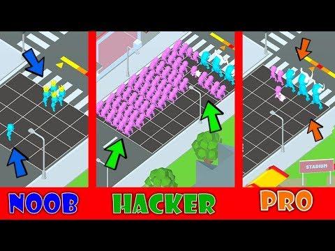 GANG CLASH - HACKER VS PRO VS NOOB
