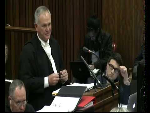 The state presents closing arguments in Pistorius case: Session 2