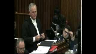 Repeat youtube video The state presents closing arguments in Pistorius case: Session 2