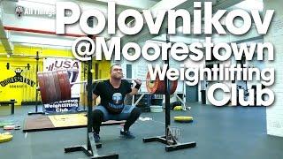 Vasiliy Polovnikov 320kg x2 Squat at Moorestown Weightlifting Club New Jersey