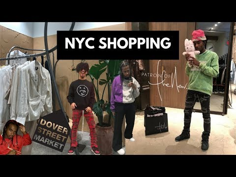 Shopping in New York - DOVER STREET MARKET & PATRON OF THE NEW