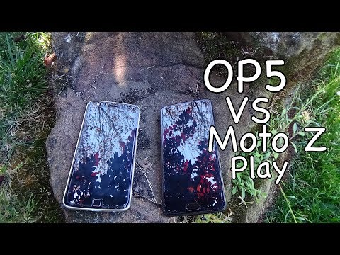 OnePlus 5 VS Moto Z Play