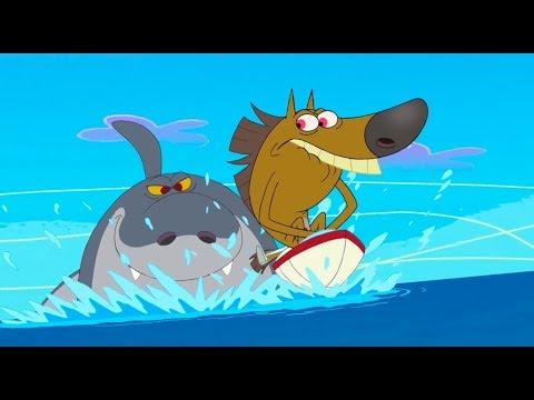 ZIG e SHARKO - COMPILAÇÃO DE BARCO 🚢⚓ #TITANIC - Português Brasil | Cartoon for Kids