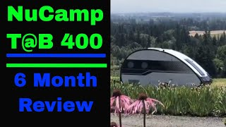 2018 NuCamp Tab 400:  A 6 Month Review