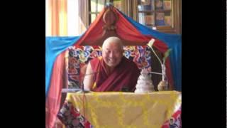 Long Life prayer for His Eminence Yongdzin Tenzin Namdak Rinpoché