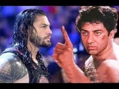 SUNNY DEOL VS ROMAN REIGNS | BEST DIALOGUE FIGHT...| latest fight 2018
