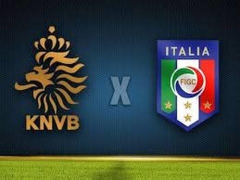 Holanda X Italia Ao Vivo Em Hd 28 03 2017 15h30 Youtube