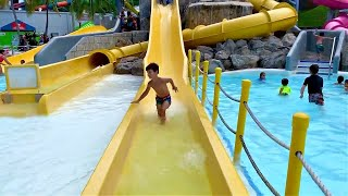 RAPIDS Water Park Slides for Kids / Vacation in FLORIDA with Family