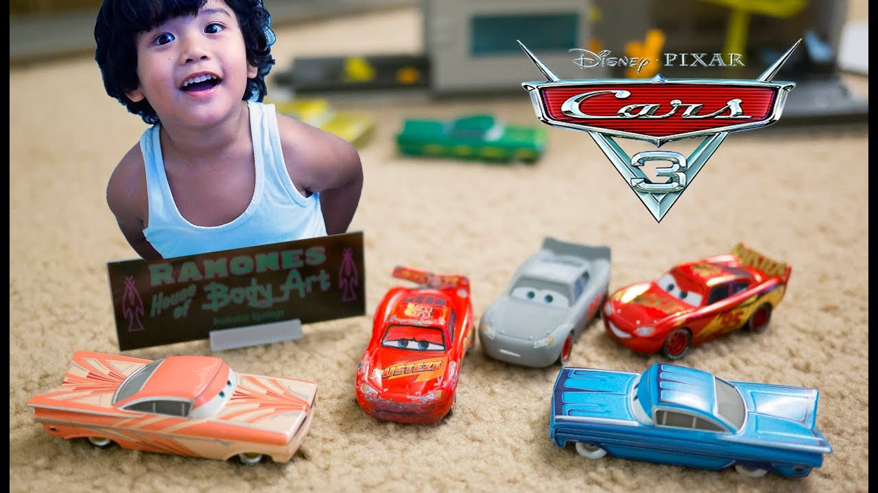 Disney Pixar Cars 3  2018 Radiator Springs Classic Intro Ramone