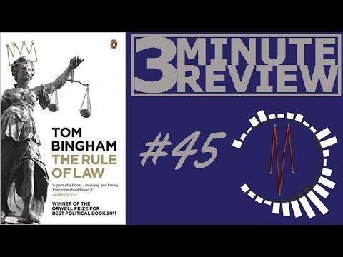 The Rule Of Law By Tom Bingham Worldnews Com