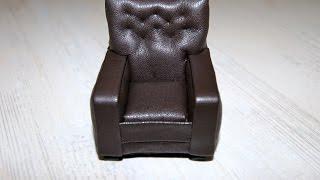 Кресло для кукол / Chair for dolls(, 2016-06-21T07:41:50.000Z)
