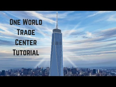 UPDATED One World Trade Center Tutorial (Mineraft Xbox)