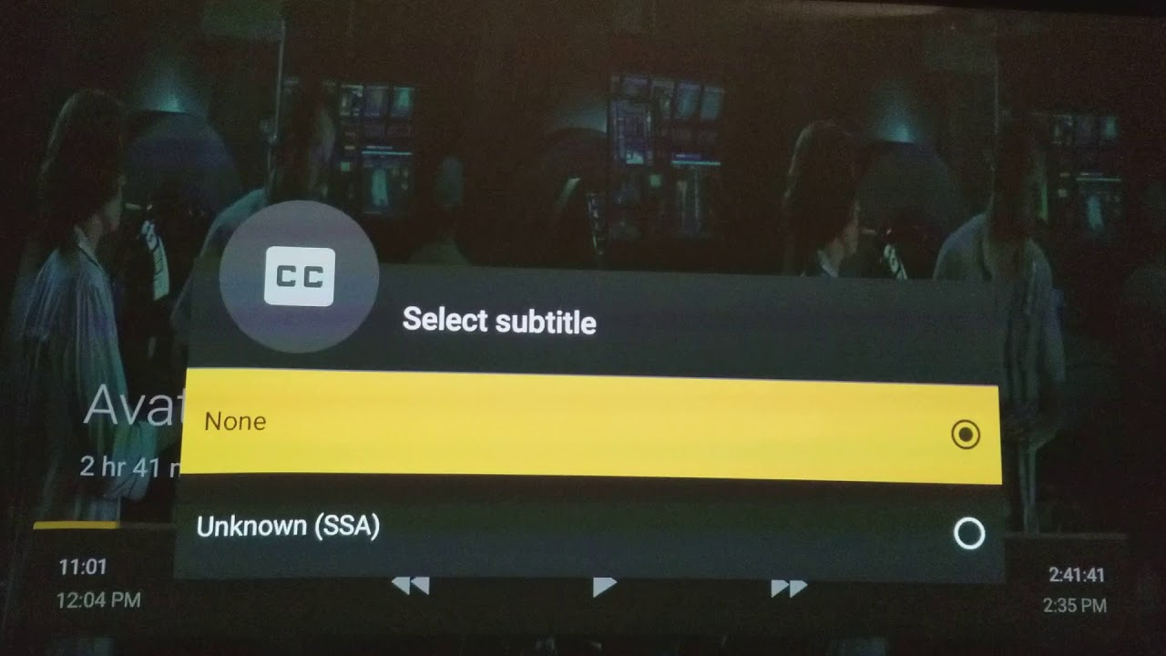 SSA subtitle issue Plex Nvidia Shield