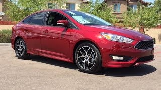 2015 Ford Focus SE Sport Sedan Walkaround