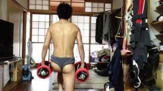 spasm ass squat ケツピクスクワット thumbnail