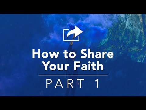 How To Share Your Faith Part 1 - Bruce Downes The Catholic Guy