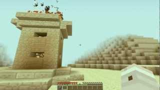 Minecraft - Çöl Tapınağı//The Desert Temple [1.3.1]