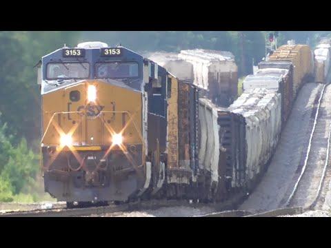 [1D] Six Trains and No Break on Labor Day, CSX Railfanning Hull - Elberton GA, 09/07/2015 ©mbmars01