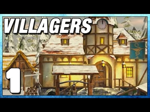 Villagers Part 1 - First Impressions - Lets Play Villagers PC Gameplay