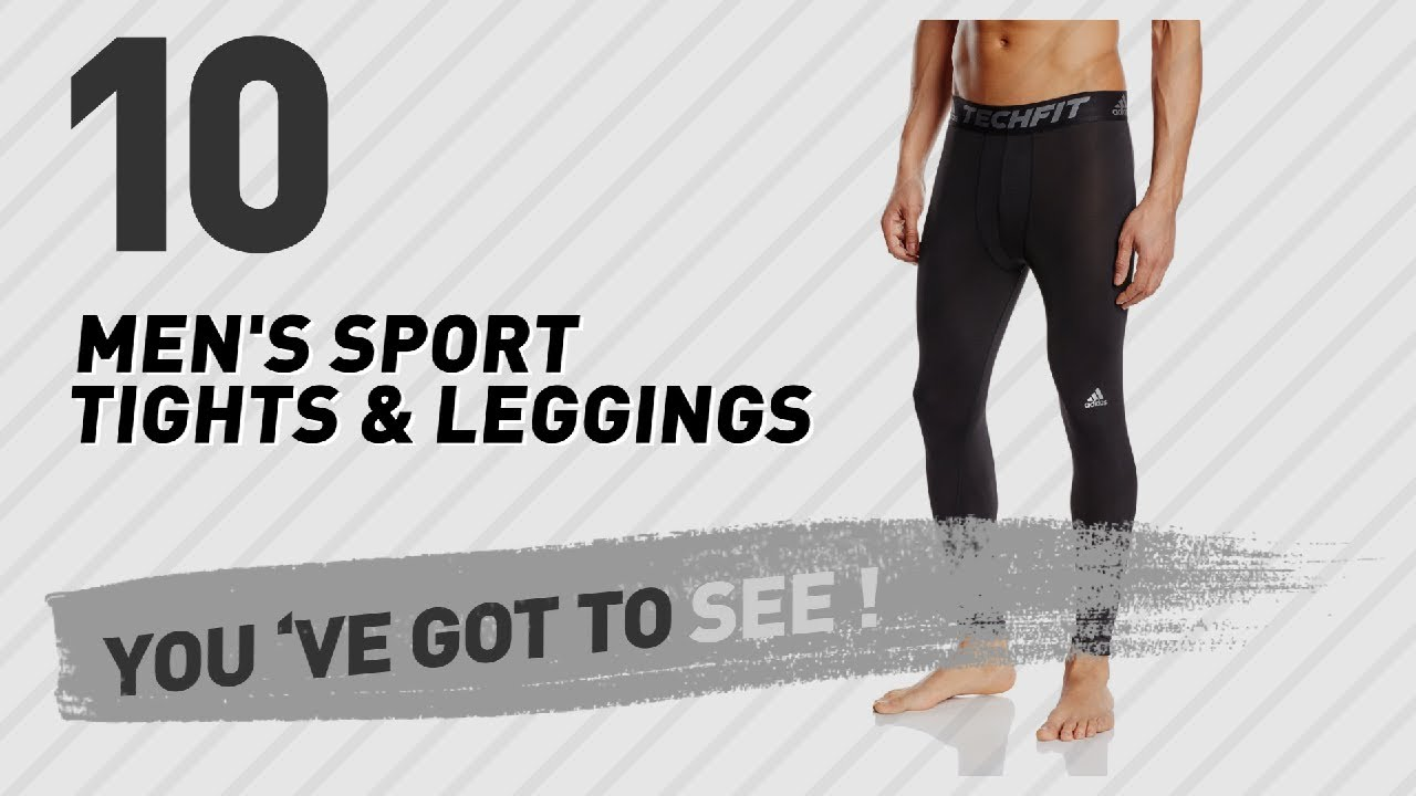 509b85e746f6f Adidas Men s Sport Tights   Leggings    UK New   Popular 2017 - YouTube