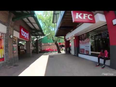 A Walk Around  Kasane Mall Botswana