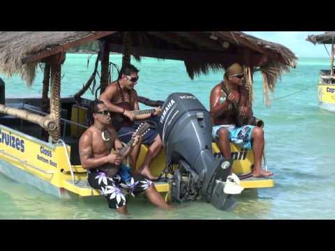 HERE WE ARE IN THE COOK ISLANDS PART 01 RAROTONGA MURI BEACH