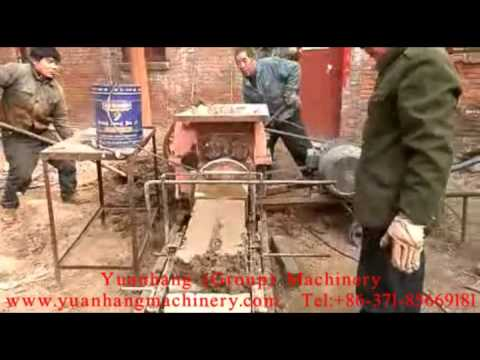 250 Small Brick Extruder with Cutting Machine.mp4