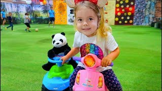 Outdoor playground for Kids with Anabella and Toy  | Sketch