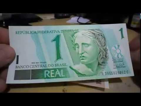 Vejam a Cédula de 1 Real mais cara do Brasil