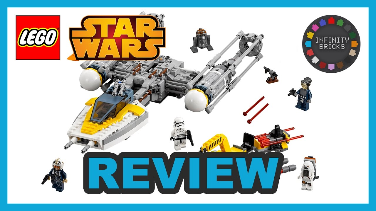 Lego star wars 75172 y wing starfighter from rogue one review the - Lego Star Wars Rogue One Review Y Wing Starfighter 75172