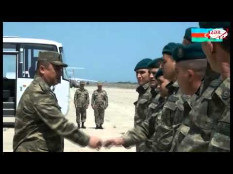 Group of peacekeepers return to Azerbaijan from Afghanistan